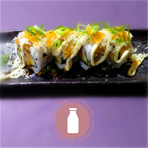 Foto Salmon dragon roll